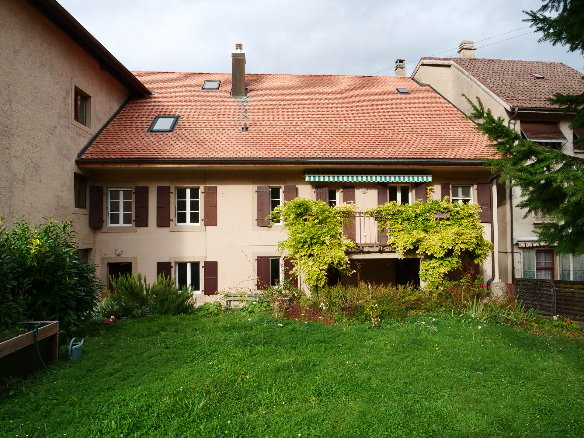 Transformation d'une maison villageoise